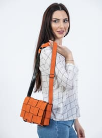 Orange - Satchel - Shoulder Bags