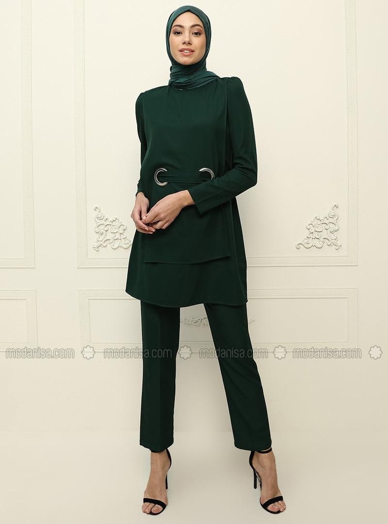Unlined - Emerald - Evening Suit