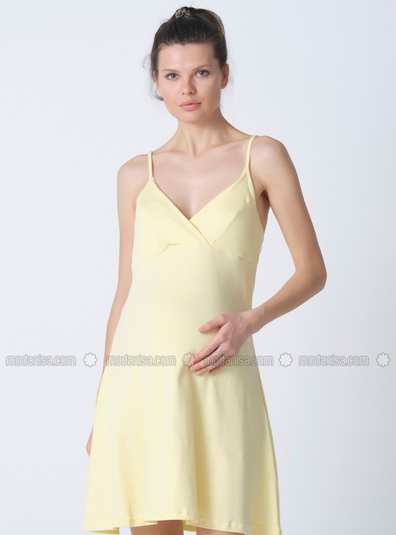 Yellow -  - Maternity Pyjamas