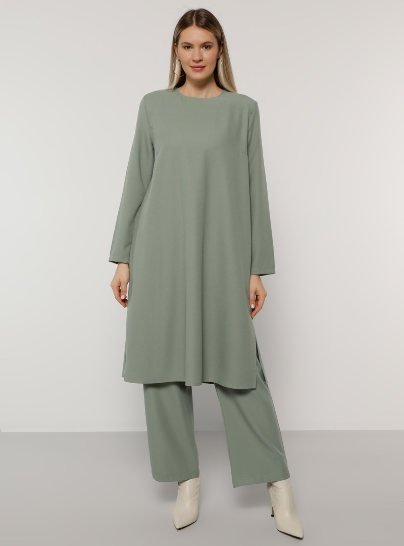 Plus Size Suit Alia Olive Green