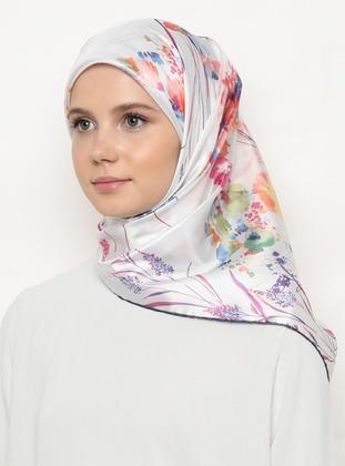 Multi - Pink - Floral - Scarf