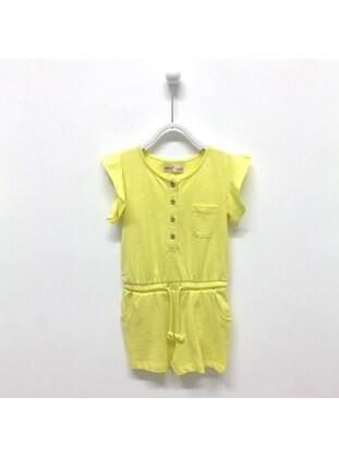 Yellow - Girls` Salopettes & Jumpsuits