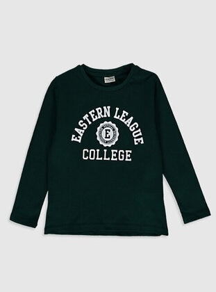 Green - Boys` T-Shirt - LC WAIKIKI
