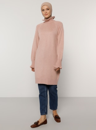 Powder - Polo neck - Unlined - Knit Tunics