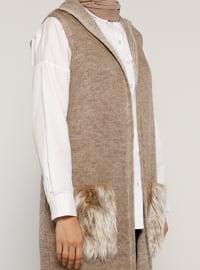 Mink - Unlined - Acrylic -  - Vest