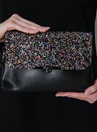 Multi - Black - Clutch - Clutch Bags / Handbags
