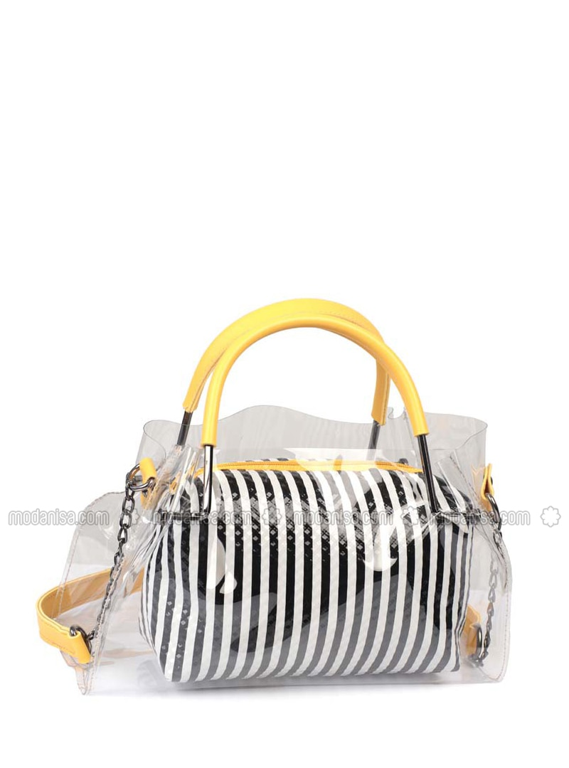 White - Black - Satchel - Clutch - Clutch Bags / Handbags