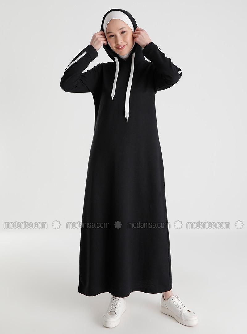 Black - Unlined -  - Dress