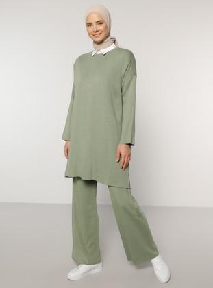 Green - Acrylic - - Pants