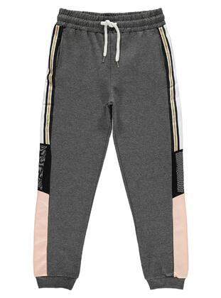 Gray - Girls` Sweatpants