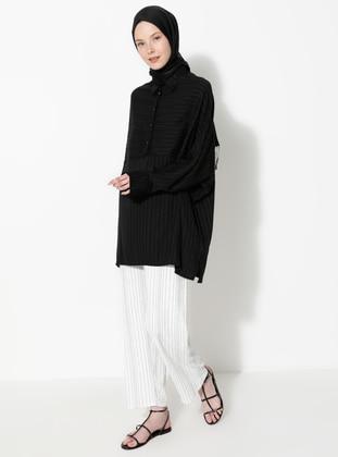 White - Stripe - Pants