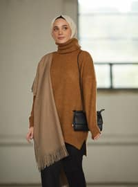 Bronze - Polo neck - Knit Tunics