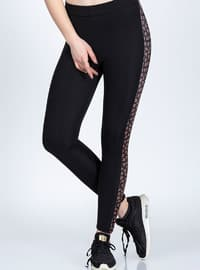 Black - Scuba - Gym Leggings