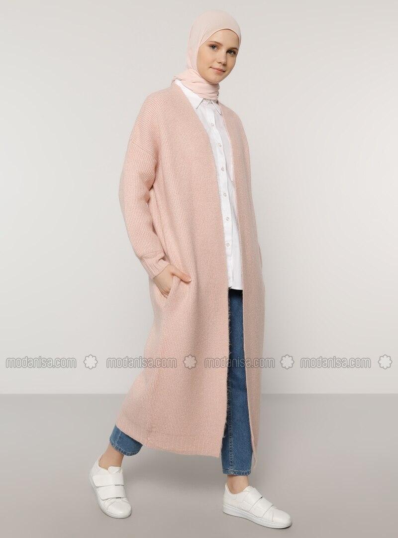 Powder - Acrylic - Cotton -  - Cardigan