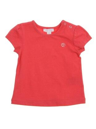 Crew neck - - Red - Baby Body