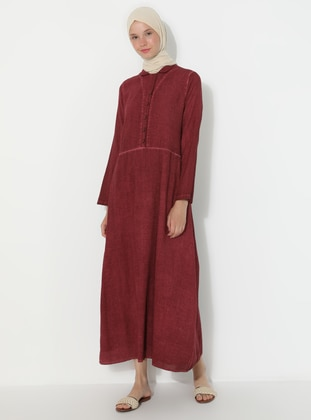Dusty Rose - Point Collar - Fully Lined -  - Dress