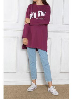 Plum - Sweat-shirt - Allday