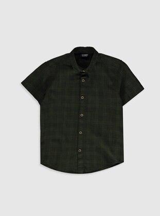 Khaki - Boys` Shirt - LC WAIKIKI