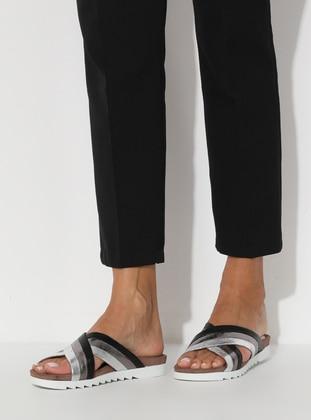 Silver - Sandal - Sandal