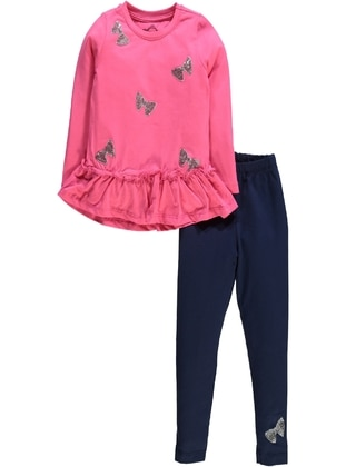Fuchsia - Girls` Suit - Civil