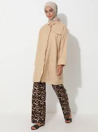 Leopard - Leopard - Viscose - Pants