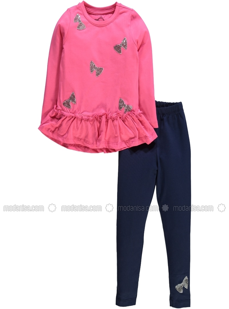Fuchsia - Girls` Suit