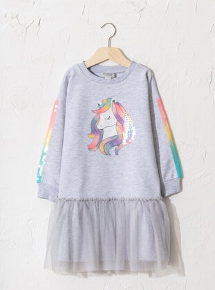 Multi - Girls` Dress - LC WAIKIKI