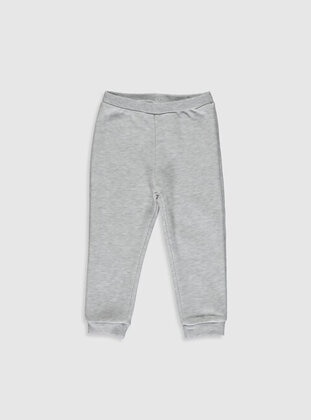 Gray - Baby Sweatpants - LC WAIKIKI