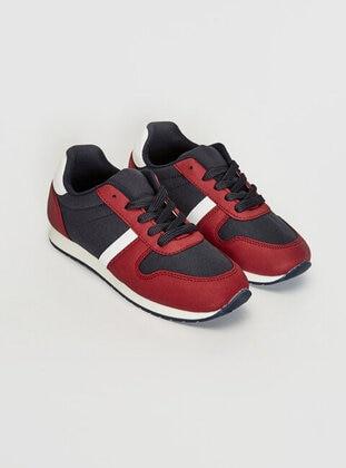 Maroon - Boys` Shoes