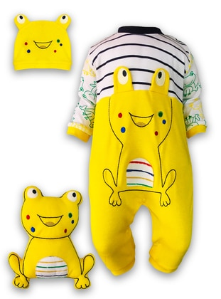 Crew neck -  - Yellow - Baby Suit