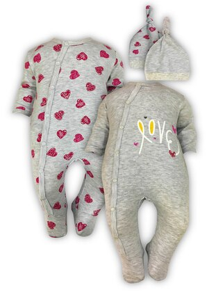 - Gray - Baby Suit