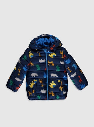 Navy Blue - Baby Jacket - LC WAIKIKI