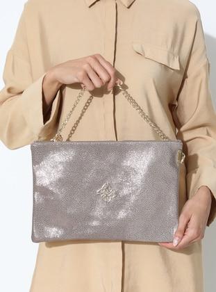 Bronze - Pink - Clutch Bags / Handbags