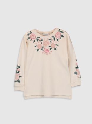 Cream - Girls` T-Shirt - LC WAIKIKI