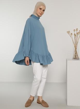 Indigo - Polo neck - Blouses