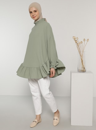 Green Almond - Polo neck - Blouses
