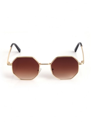 Brown - Sunglasses - Nilu Moda