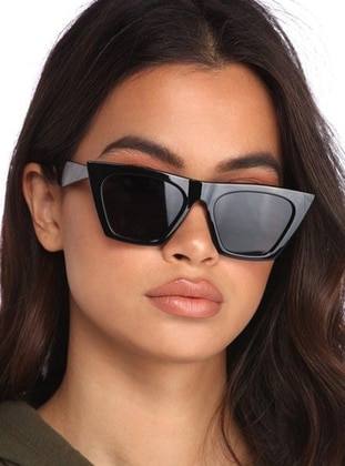 Black - Sunglasses - Nilu Moda