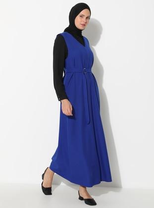 Saxe - V neck Collar - Unlined - Dress