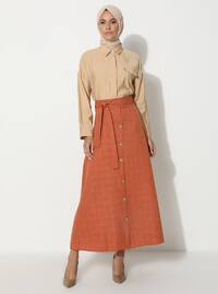 Terra Cotta - Unlined - Skirt