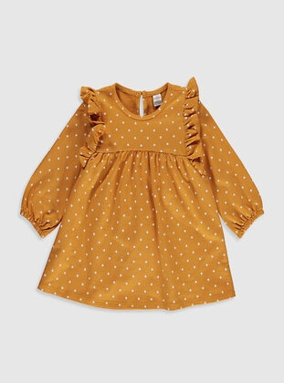 Yellow - Baby Dress - LC WAIKIKI