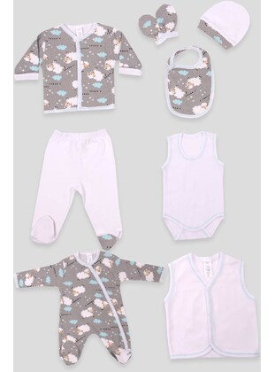 Gray - Baby Care-Pack - Breeze Girls&Boys