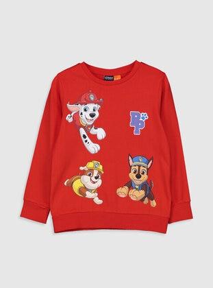 Red - Boys` T-Shirt - LC WAIKIKI