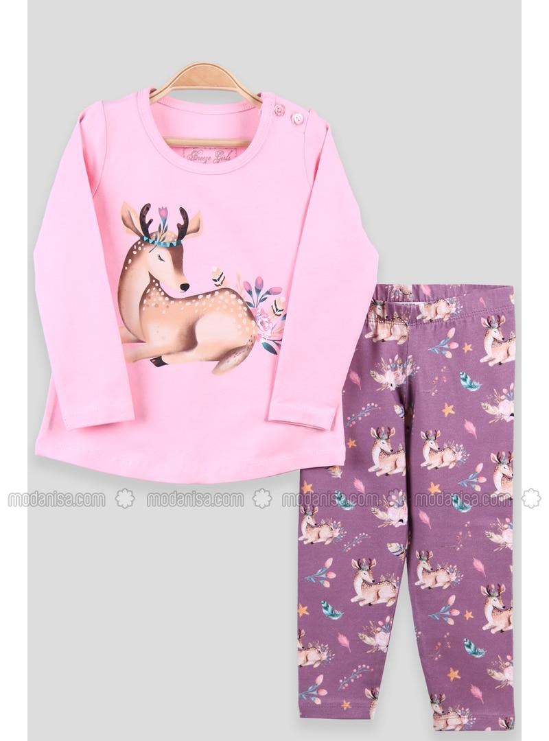 Pink Celana Legging Bayi