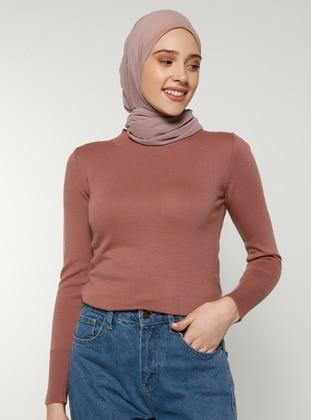 Dusty Rose - Crew neck - Acrylic -  - Jumper