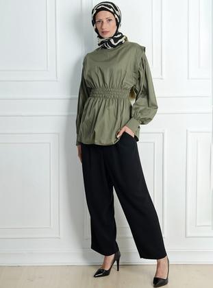 Black - Viscose - Skirt