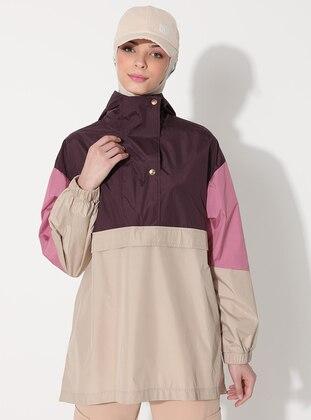Plum - Unlined - Puffer Jackets