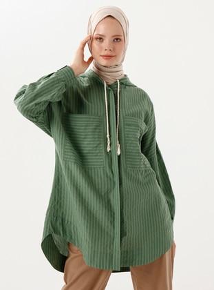 Green - Viscose - Tunic