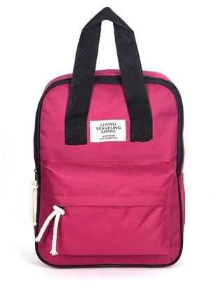 Maroon - Backpack - Backpacks