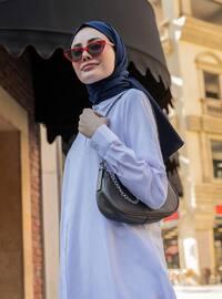 White - Ecru - Point Collar -  - Tunic - Everyday Basic